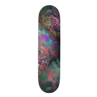 Hot Frac Designs by Leslie Harlow Skateboard Deck