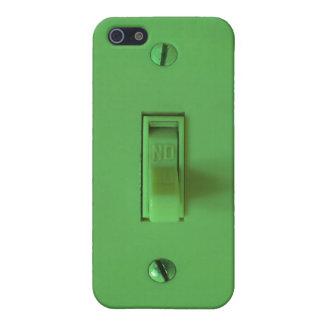 Hot Frac Neon Green Light Switch iPhone Case