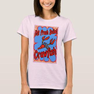 Hot Fresh Boiled Crawfish Sign T-Shirt