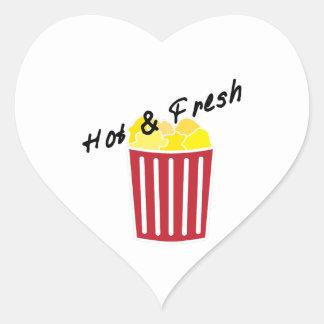 Hot & Fresh Heart Sticker