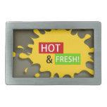 Hot & Fresh! Hebillas De Cinturon Rectangulares