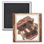 Hot Fudge Sundae Cake Magnet
