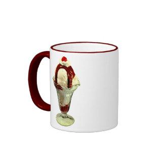 Hot Fudge Sundae Retro Ice Cream Mug
