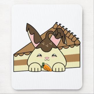 Hot Fudge Vanilla Hopdrop And Cake Mouse Pad