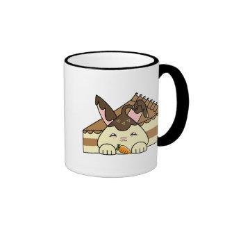 Hot Fudge Vanilla Hopdrop And Cake Ringer Coffee Mug