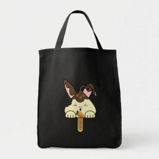 Hot Fudge Vanilla Hopdrop Bitten Pop Tote Bag