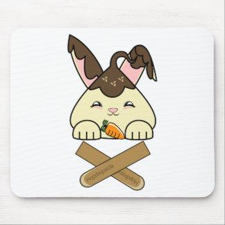 Hot Fudge Vanilla Hopdrop Crossticks Mousepad