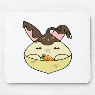 Hot Fudge Vanilla Hopdrop Mini Cone Mouse Pad