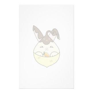 Hot Fudge Vanilla Hopdrop Mini Cone Stationery
