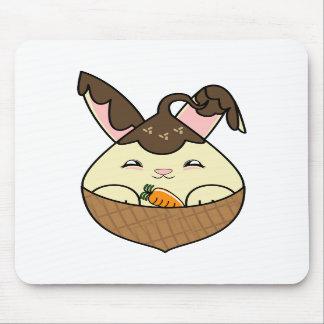 Hot Fudge Vanilla Hopdrop Mini Waffle Cone Mouse Pads