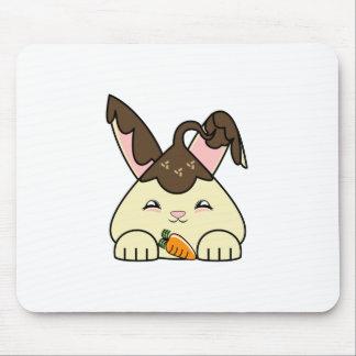 Hot Fudge Vanilla Hopdrop Mouse Pad