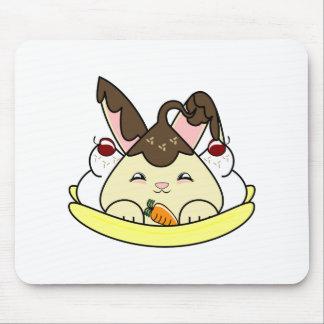 Hot Fudge Vanilla Hopdrop Split Mouse Pad