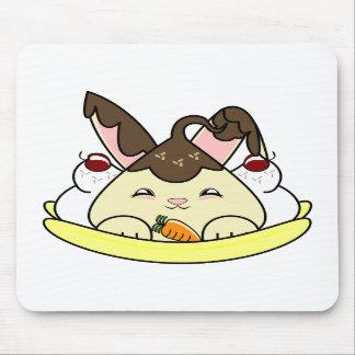 Hot Fudge Vanilla Hopdrop Split Mousepad