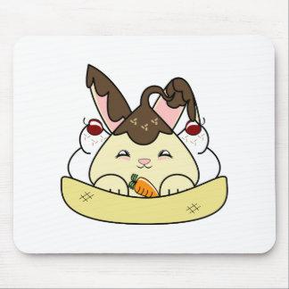 Hot Fudge Vanilla Hopdrop Sundae Mousepad