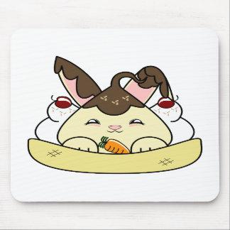 Hot Fudge Vanilla Hopdrop Sundae Mousepads