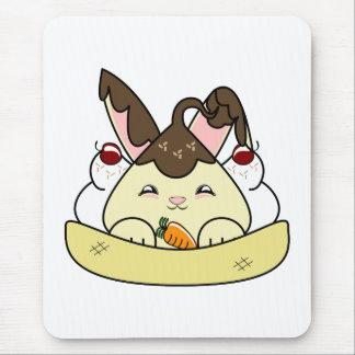 Hot Fudge Vanilla Hopdrop Sundae Mouse Pad