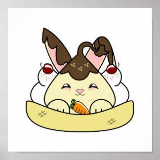 Hot Fudge Vanilla Hopdrop Sundae Posters