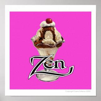 Hot Fudge Zen Poster