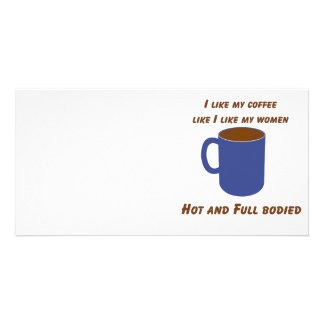Hot & Full bodied! Coffee like women tees & gifts Card