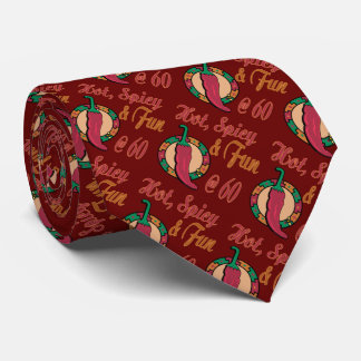 Hot, Fun and Spicy 60th Neck Tie