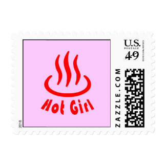 Hot Girl Stamp