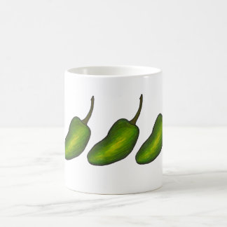 Hot Green Jalapeno Pepper Peppers Jalapenos Mug