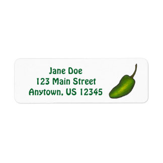 Hot Green Jalapeno Spicy Pepper Peppers Labels