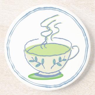 Hot Green Tea Coaster
