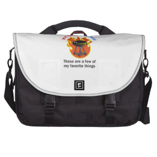 HOT GRILL COLD BEER COMMUTER BAG