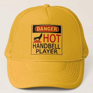 Hot Handbell Player Trucker Hat