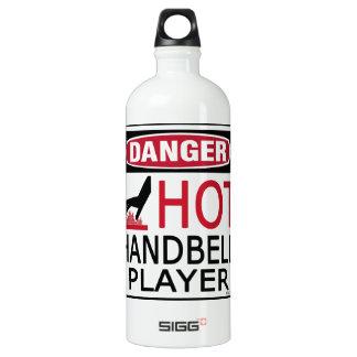 Hot Handbell Player Water Bottle