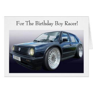 Hot Hatch Birthday Card