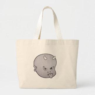 HOT HEAD BIG HEAD (grey) Tote Bag