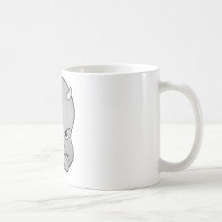 HOT HEAD BIG HEAD (grey) Coffee Mug
