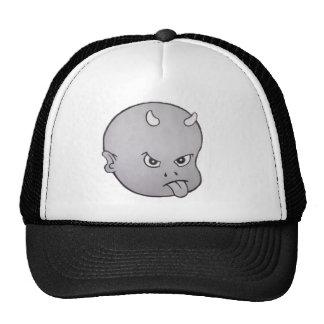 HOT HEAD BIG HEAD (grey) Trucker Hats