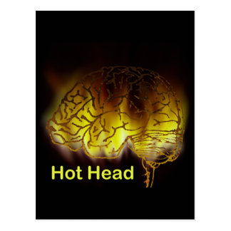 Hot Head Postcard