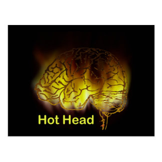 Hot Head Postcard