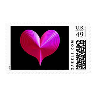 'Hot Heart' Postage