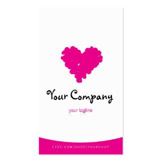 Hot Heart 'Thank You' card