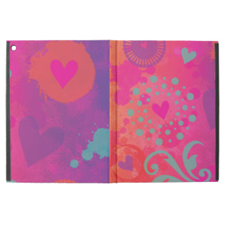 "Hot Hearts Graffiti iPad Pro 12.9"" Case"