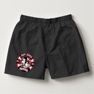 Hot Hogs™ Classic Black Boxer Shorts
