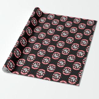 Hot Hogs™ Classic Black Gift Wrap