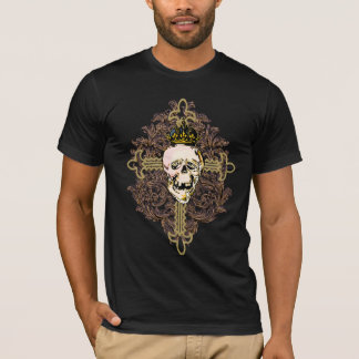 Hot hot Graphic Tee with Skull
