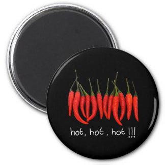 hot, hot, hot, hot chilli magnet