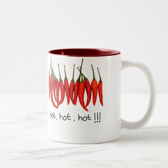 hot, hot, hot, hot chilli mug
