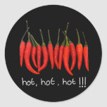 hot, hot, hot, hot chilli sticker