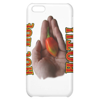 Hot Hot HOT Single Habanero Pepper in Hand iPhone 5C Cover