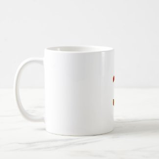 Hot Hot HOT Single Habanero Pepper mug