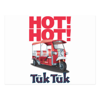 Hot Hot Tuk Tuk Postcard