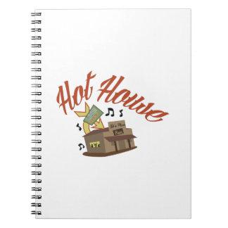 Hot House Spiral Notebook